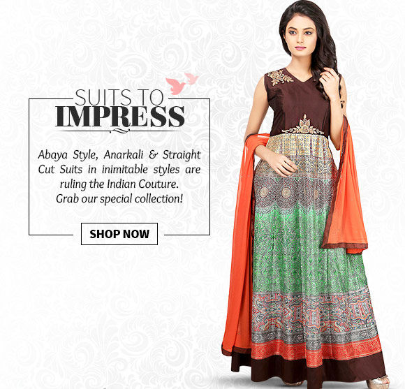 A myriad of new-style Salwar Suits. Buy Now!