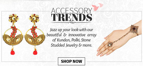 Necklaces, Earrings, Bracelets, Bangles & more. Buy Now!