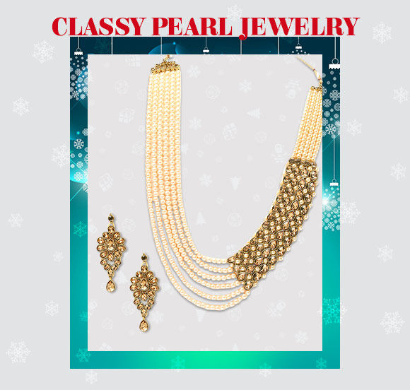 Party Jewelry in Pearls. Shop!