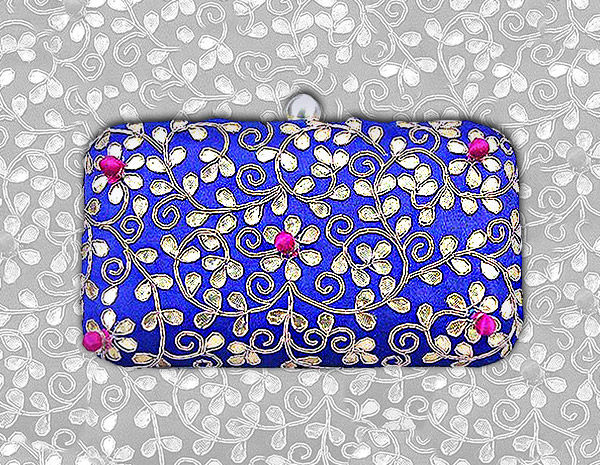 Must-have Bags like Brocade & Embroidered Clutches & ornate Potlis. Shop!